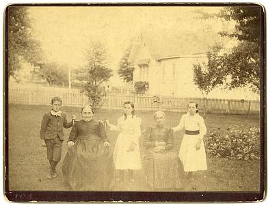 Post family, 1892
