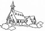 Pal Pres Church-line drawing gif
