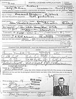Pistol permit